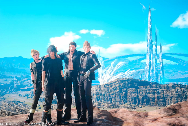 ffxv-characters