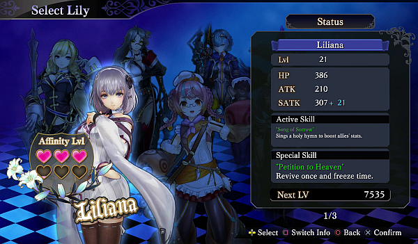 Nights of Azure 2: Bride of the New Moon – Love Triangle