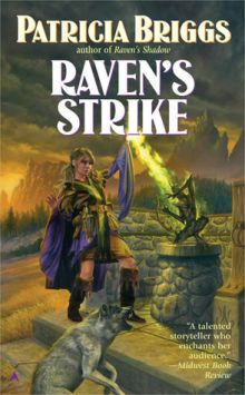 Original cover of Raven's Strike