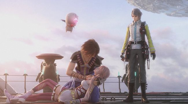 Serah, Noel, and Hope from FF13-2